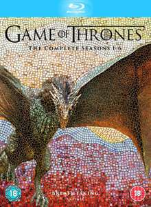 Game of Thrones - Stafell 1 - 6 (Blu-Ray) Amazon.fr