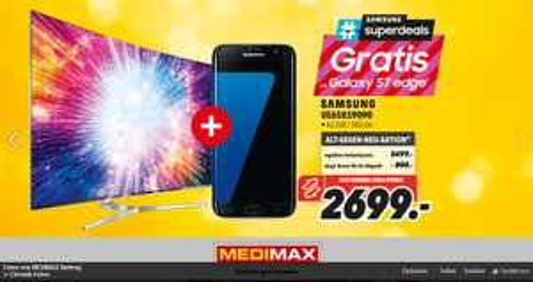 [Medimax Heinsberg, lokal] Samsung UE65KS9090
