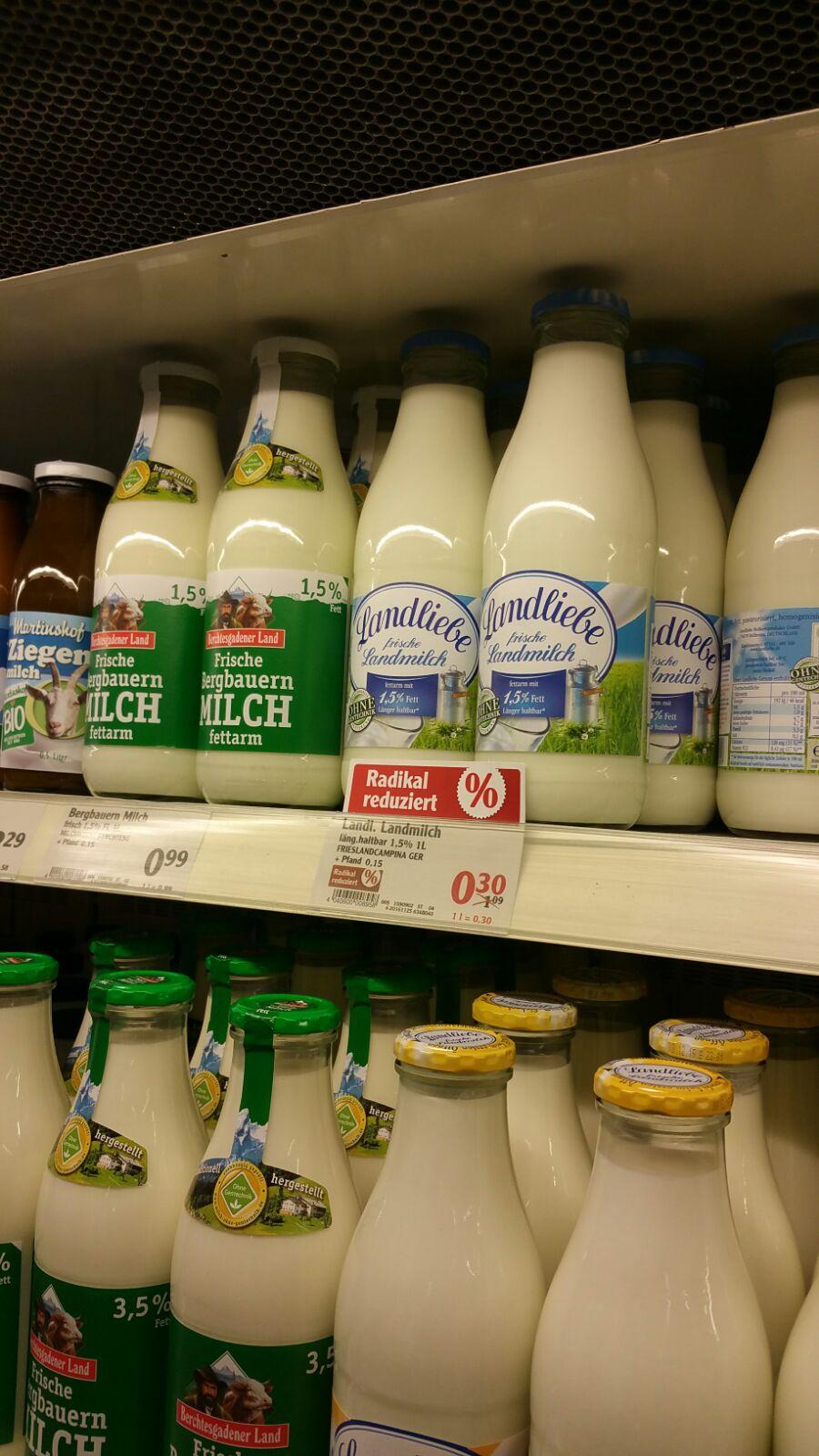 [ Local ] Globus Völklingen - Landliebe 1,5 % Milch