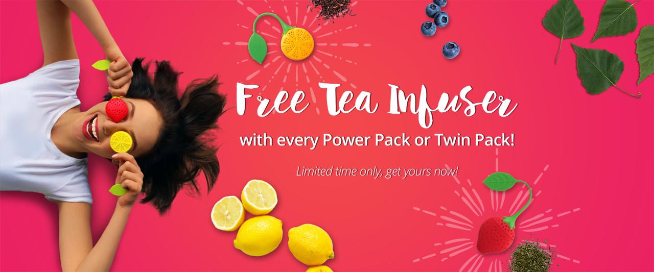 Black Friday TeaTox -20% + Free Versand + Free Infuser