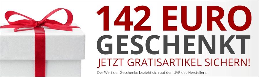 23 Geschenke* im Wert von über 142,00 Euro:
