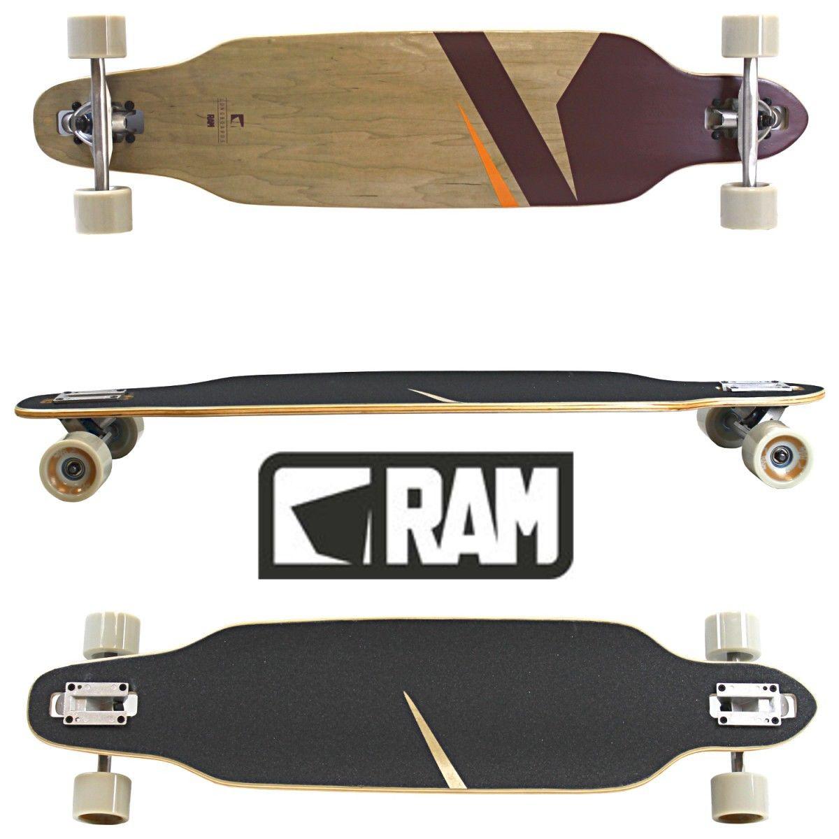 RAM Longboard verschiedene Modelle für 29,99€