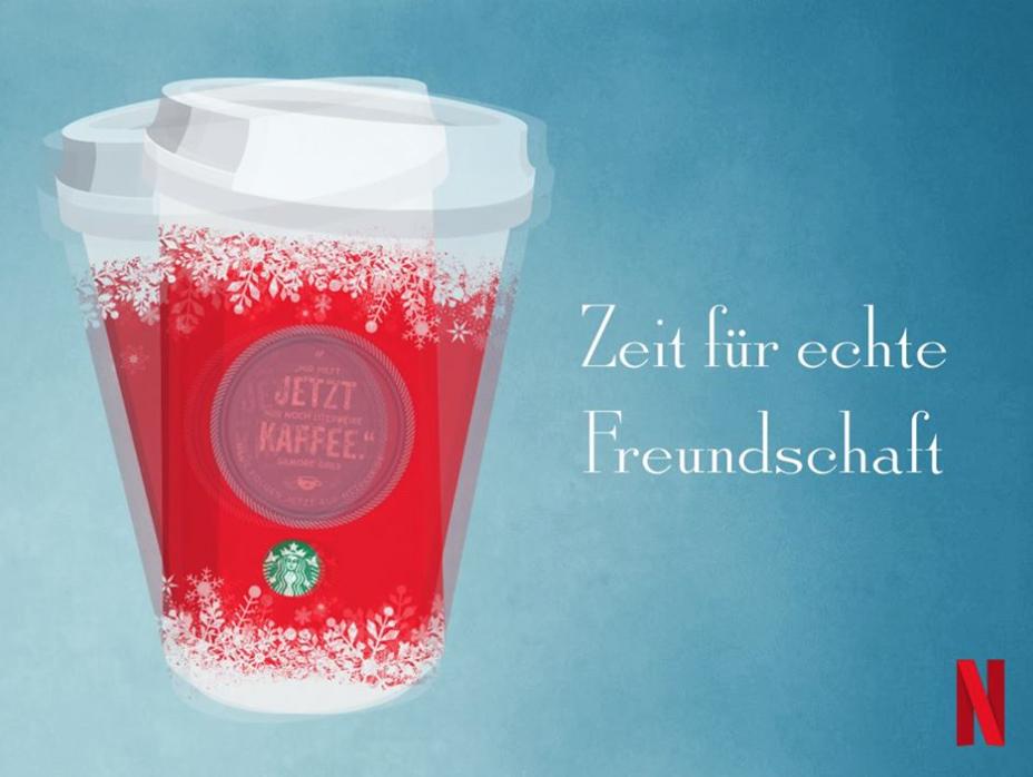 (Starbucks) Beim Kauf eines Weihnachtsgetränks:  2. Getränk gratis