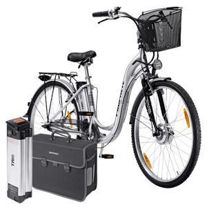 "Alu-Elektro-Fahrrad von Prophete (26""/28"") bei REAL + 2.Akku + Akkutasche 799 EUR statt 1373 EUR"