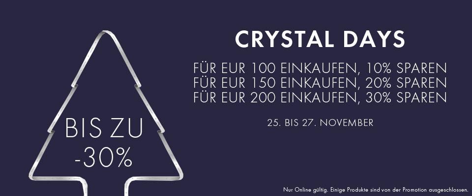 [Black Friday] 30% ab 200€ bei Swarovski (nur online),  z.B. für Uhr Crystalline Oval