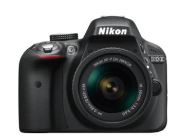 BLACK WEEKEND SALE: Nikon D3300 + AF-P DX NIKKOR 18-55 / 3.5-5.6 G VR