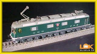 Roco E-Lok RE 6/6 (SBB) MIT SOUND (serienmäßig) DCC H0 (nur für eingeloggte Lokmuseum-Benutzer)