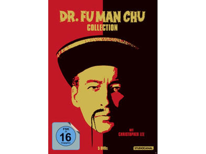 Dr. Fu Man Chu, Klassiker mit Christopher Lee, 5 Filme deutsch und längere Originalfassungen DVDs 6,39 statt 7,97