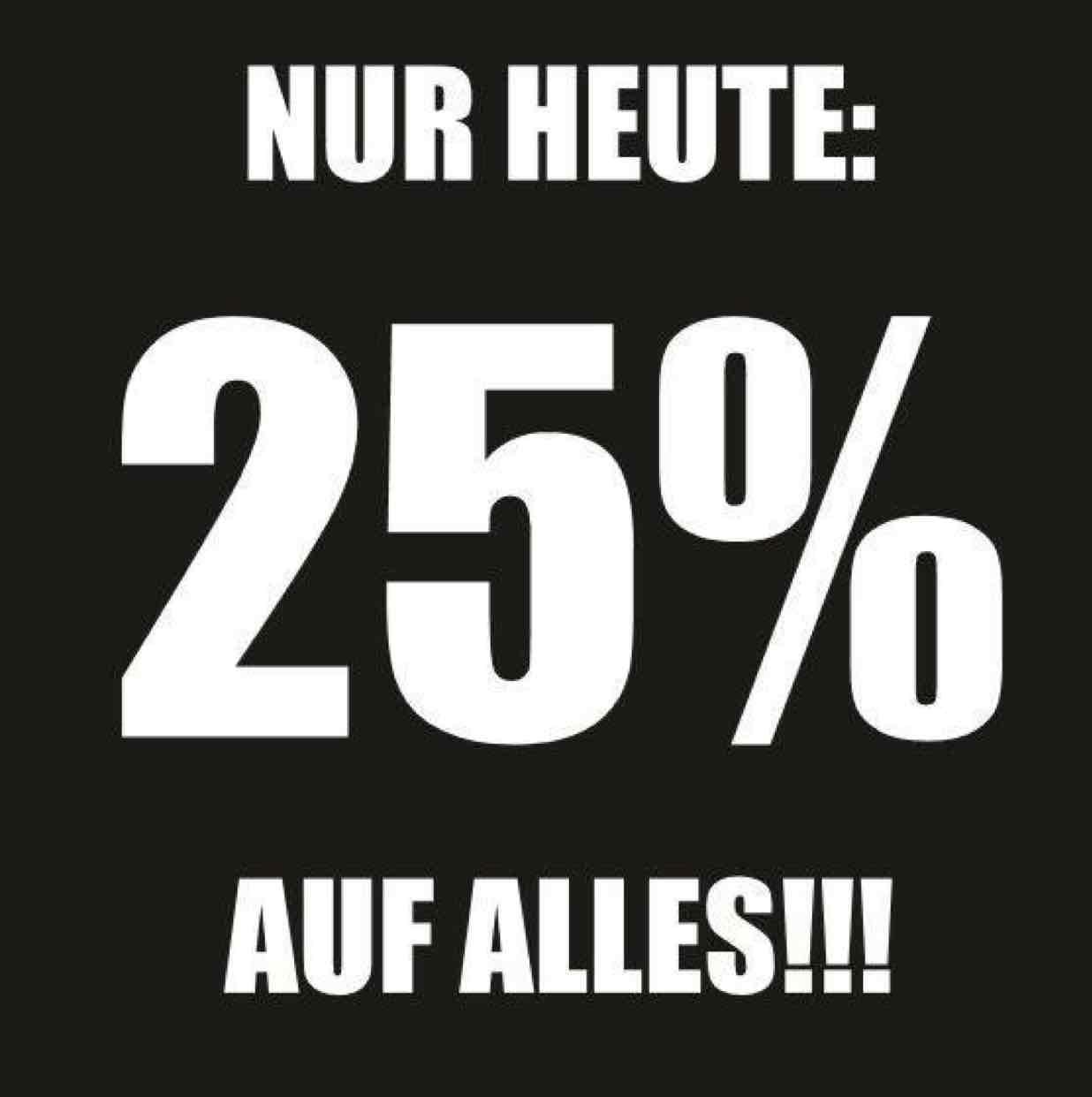 Superfriday 25% auf alles Lokal @ Schulze Siegen
