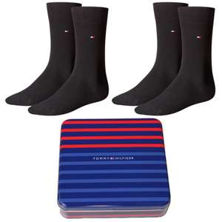 4 Paar Tommy Hilfiger Socken in Geschenkbox für 19,95€ statt 23€ @Mybodywear Black Friday