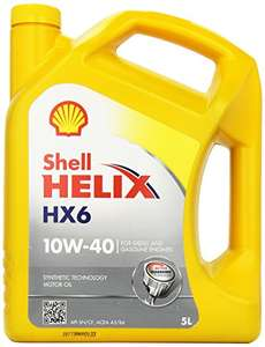 Shell Helix HX6 10W-40 Motoröl, 5L für 15,99€ @Amazon.de (Prime)