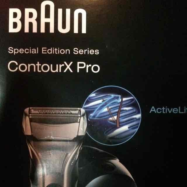 (Lokal Leipzig) Braun Contour X Pro Mit Reinigungsstation