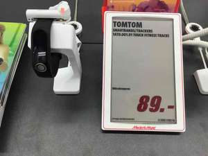 TomTom Touch Fitnesstracker Red Friday Angebot im Media Markt Ludwigsburg