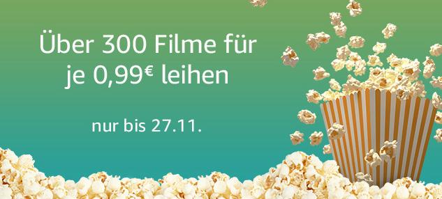 Amazon Filme Abend Über 300 Filme für 99 Cent leihen
