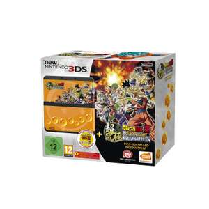 [Amazon] New Nintendo 3DS schwarz inkl. Dragon Ball Z: Extreme Butoden + Zierblende