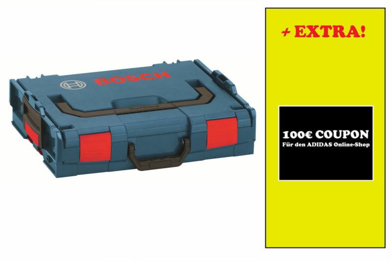 Bosch L-Boxx mit 100 Euro Adidas Gutschein