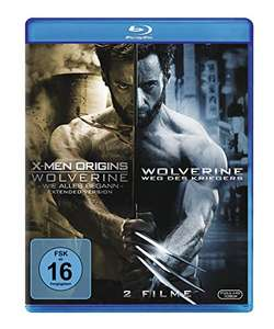 (Amazon Prime) Wolverine 1&2 (Blu-ray) für 7,20€