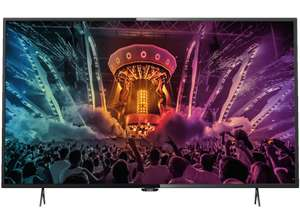 PHILIPS 49PUS6101/12 (Flat, 49 Zoll, UHD 4K, SMART TV) Black Friday (Mediamarkt Nordhorn)