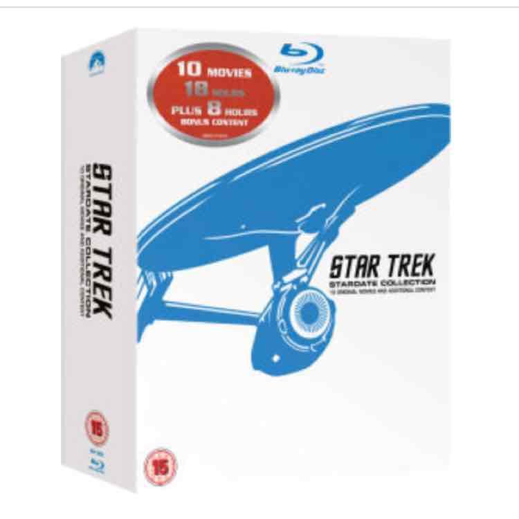 [Zavvi.de] STAR TREK 1-10 - REMASTERED BOX SET BLU-RAY