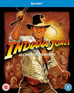 Indiana Jones 1 - 4 Blu Ray