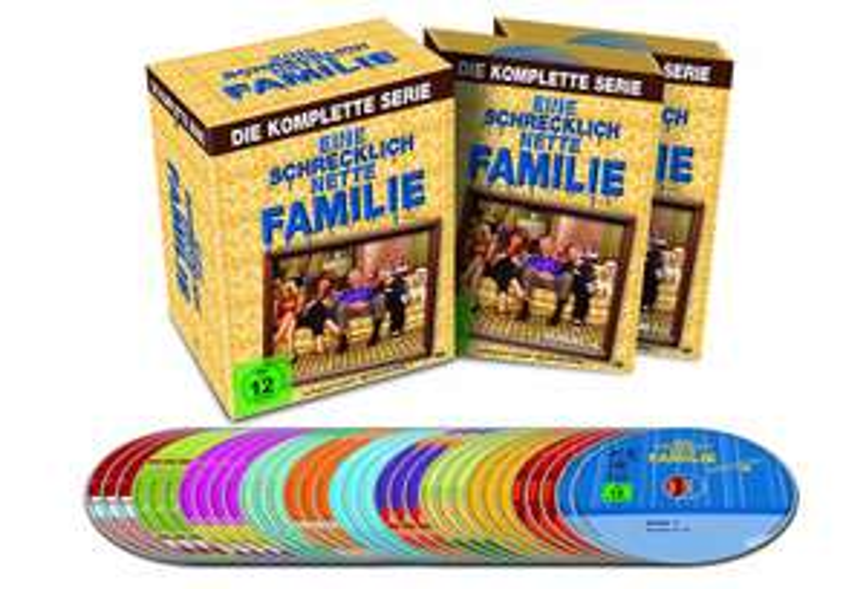 Eine schrecklich nette Familie - Die komplette Serie [33 DVDs] für 27,20€ [Amazon & Saturn]