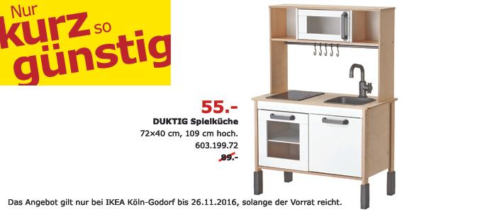 [Köln Godorf] Ikea Spielküche Duktig für 55€