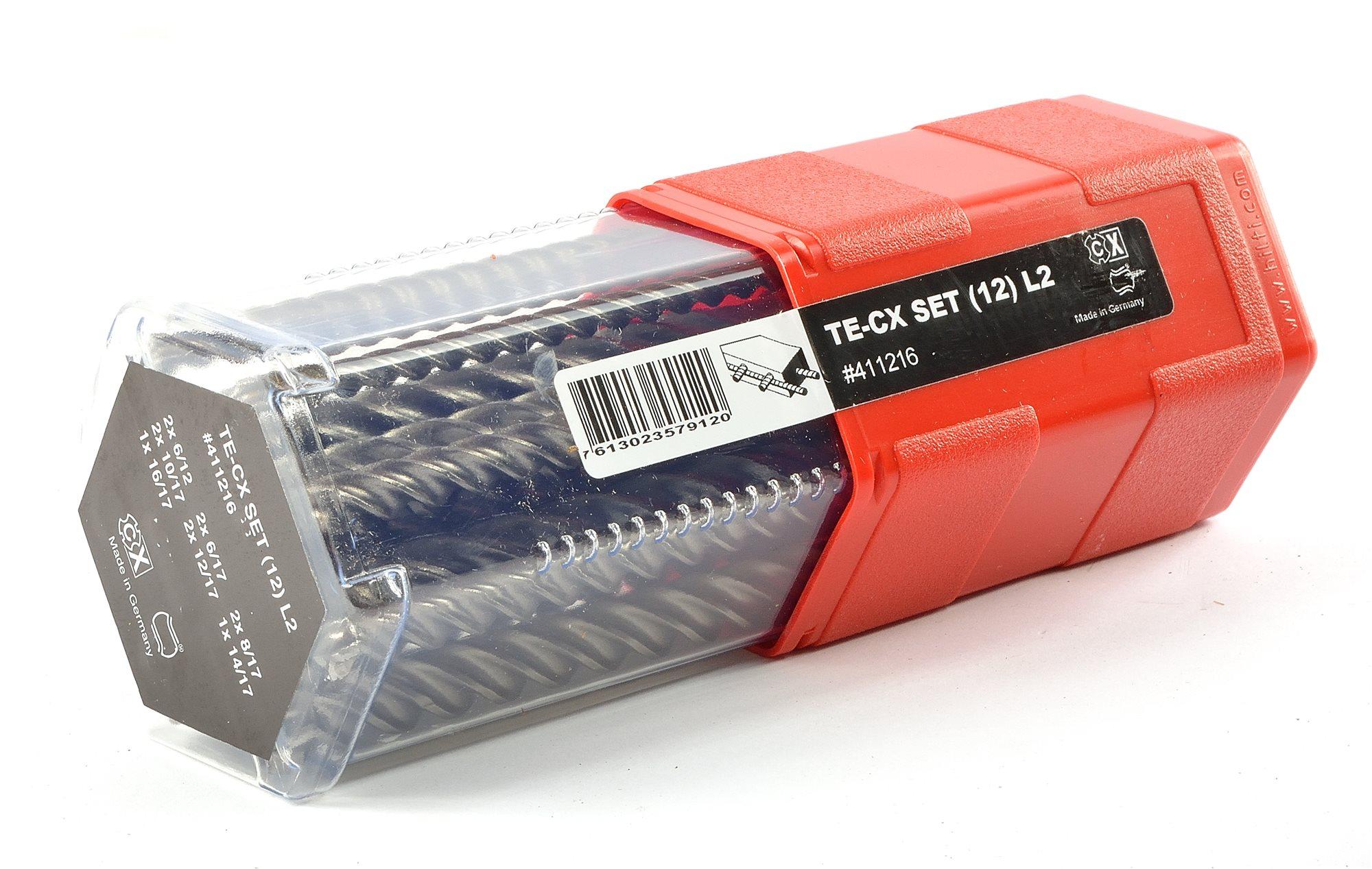 Hilti Hammerbohrer TE-CX (12) L2 Satz 12 Bohrer lokal in deutschen Stores für 58,31 Euro oder plus 17,90 Versand PVG 118,50. Ab 100 € VK-frei