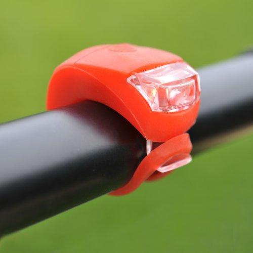 Zwei Silikonleuchten (rot und weiß) inkl Lieferung für 1,83 Euro (VGL Preis 5 Euro)