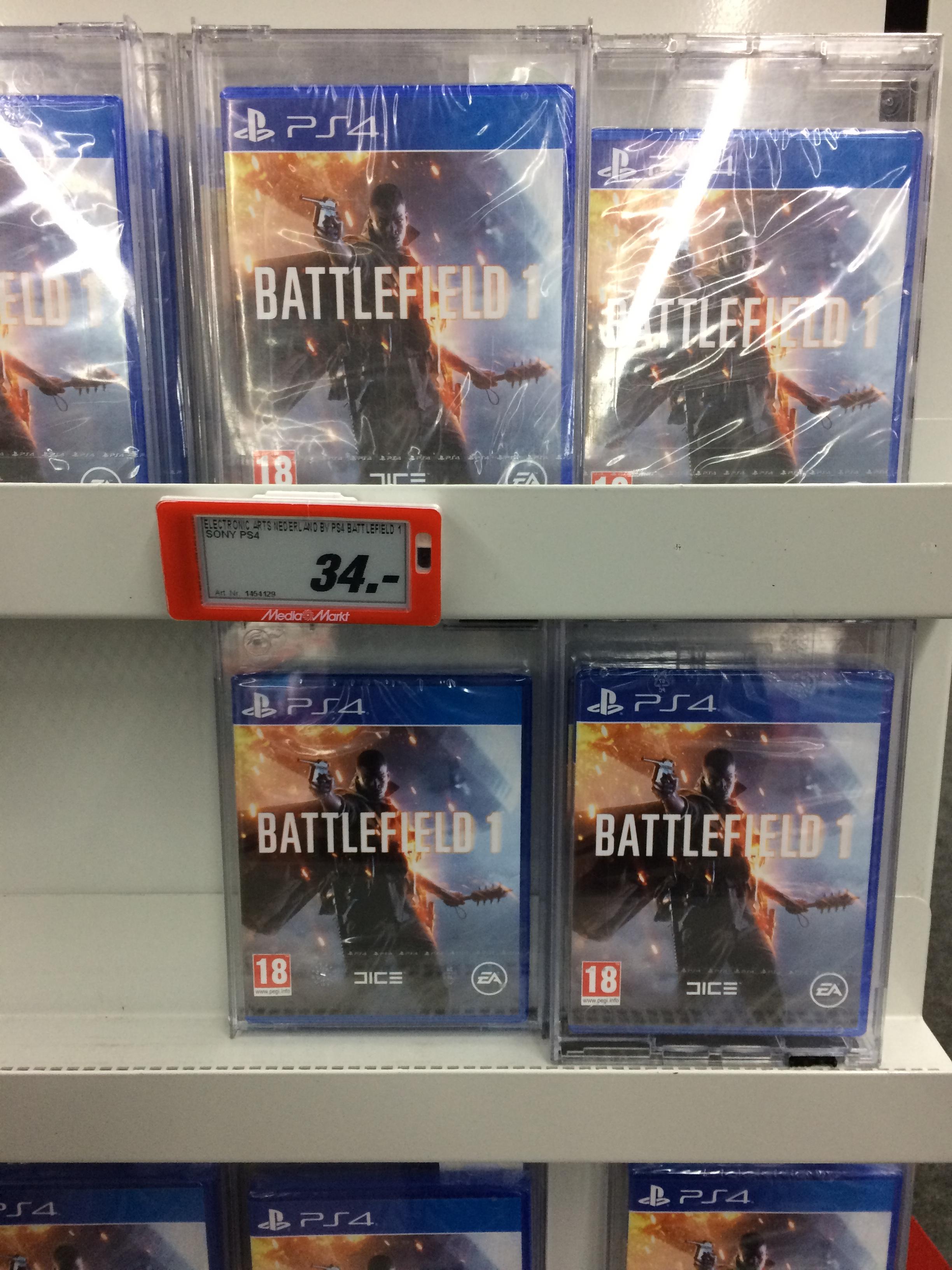Battlefield 1 und Call of Duty: Infinite Warfare (PS4) [lokal] [MM Roermond]