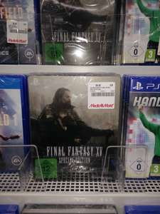 (Lokal MM Neustadt Wstr.) PS4 Final Fantasy XV Steel Book Edition