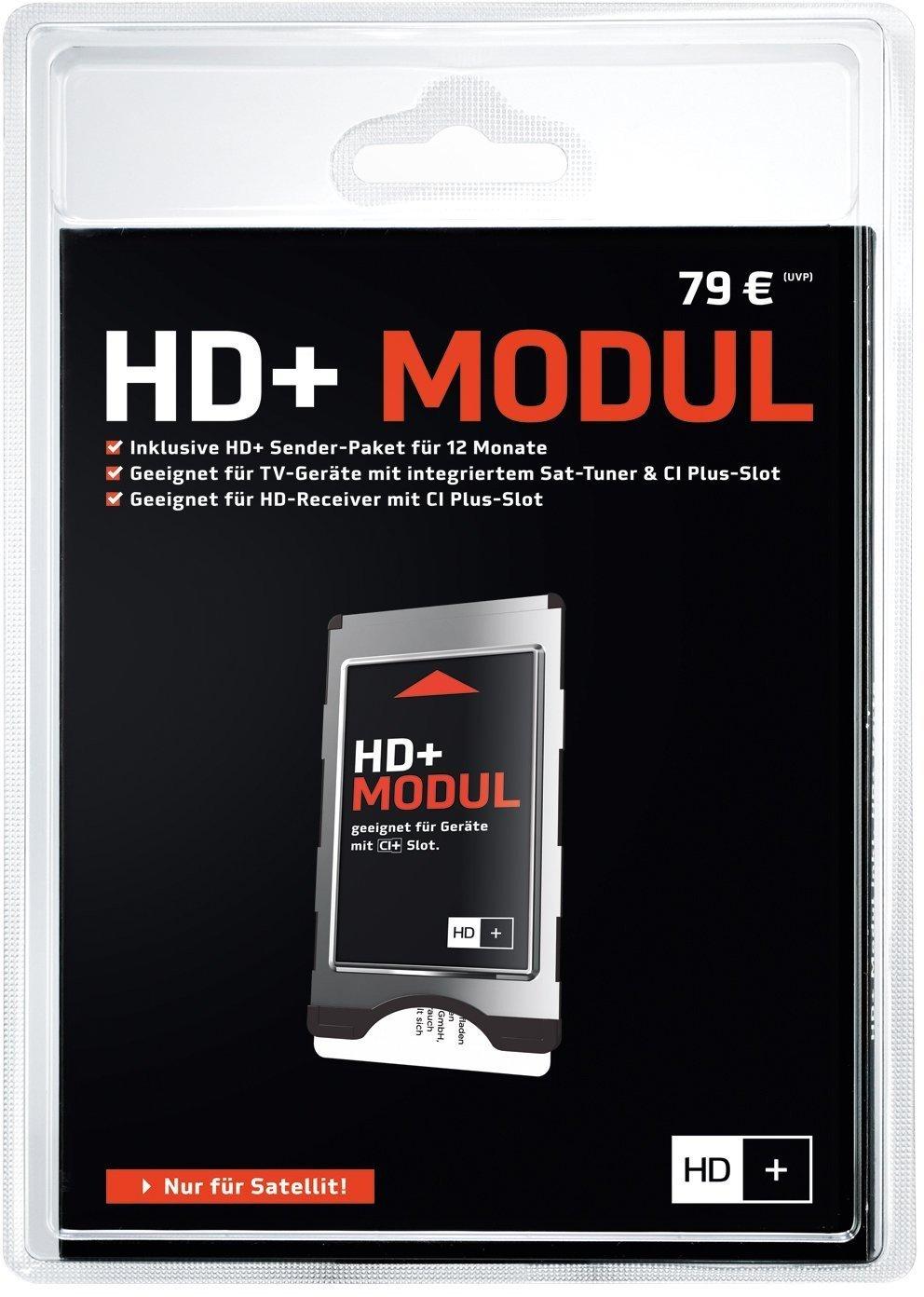 HD PLUS CI+ Modul für 12 Monate (inkl. HD+ Karte) - 59,00 für die nächsten 2,5 Stunden