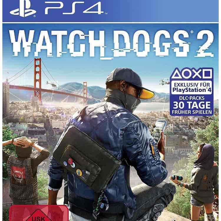 Watchdogs 2 für PS4 und XBOX ONE - AMAZON