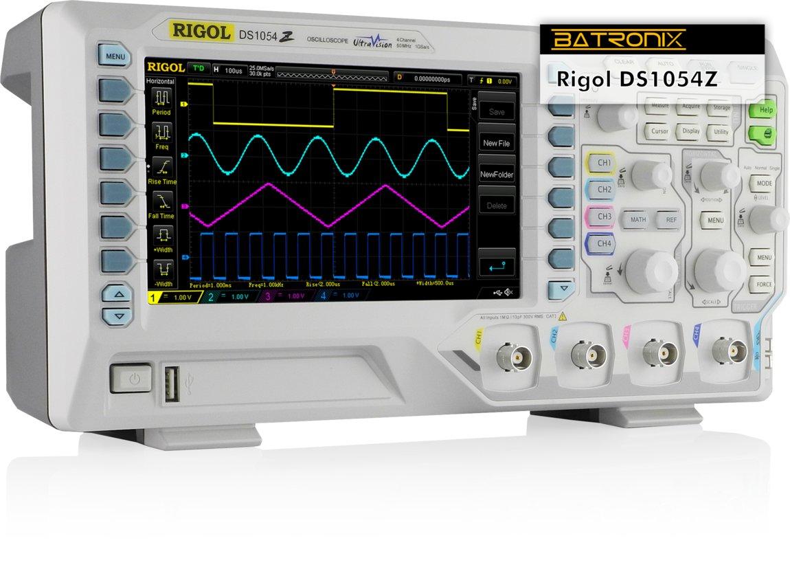 Rigol DS1054Z Oszilloskop bei Batronix (Messerabatt)