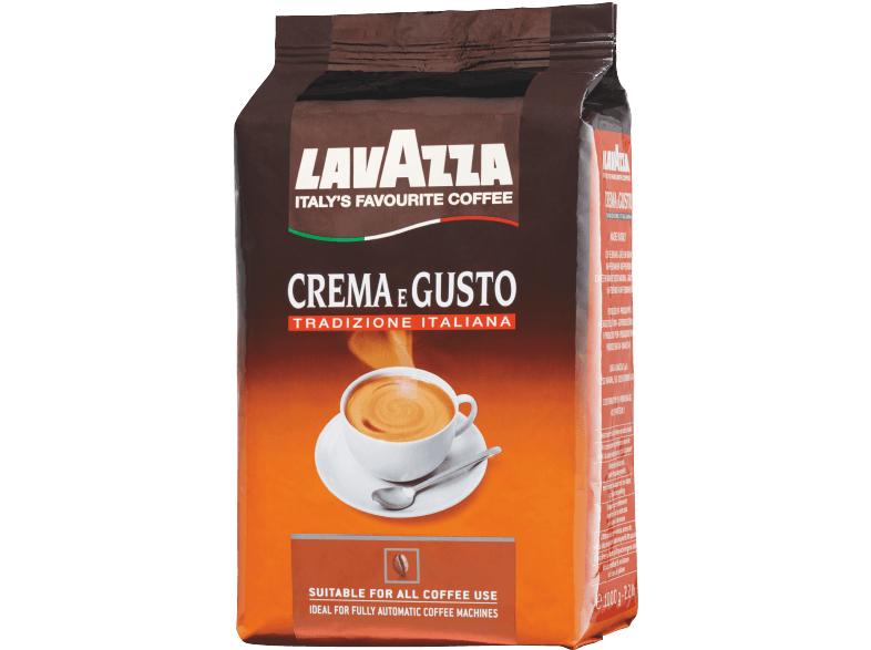 Lavazza Crema e Gusto Tradizione Italiana 1kg für 7,77€ [Mediamarkt] [ebay]