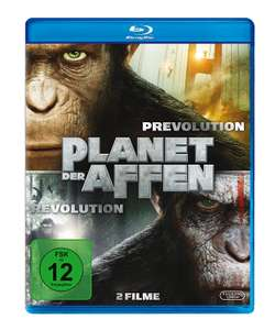 Planet der Affen: Prevolution & Revolution [Blu-ray] - [Amazon Prime]