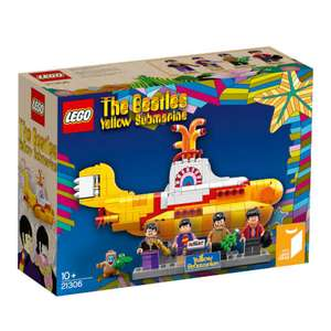 Lego Ideas 21306 Yellow Submarine bei Zavvi für 49,55€