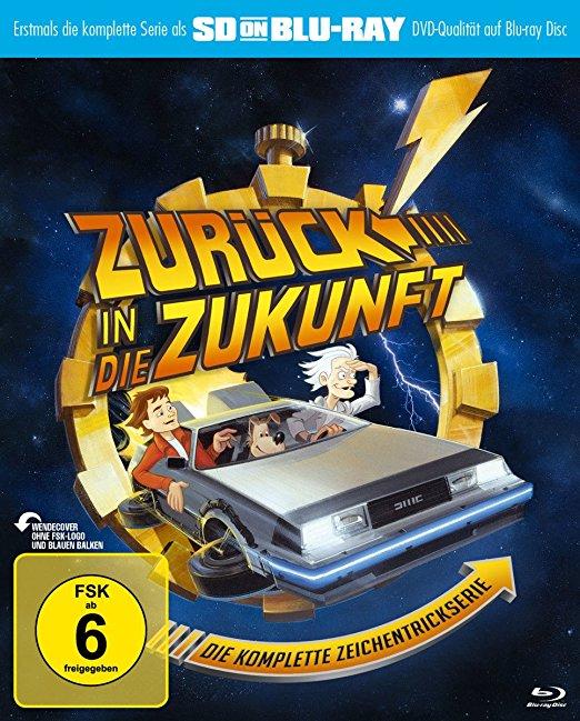 Zurück in die Zukunft - Die komplette Zeichentrickserie (SD on Blu-ray) für 13,99 € @ amazon.de ( Prime)