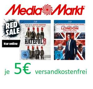 "[Blu-Ray] ""The Hateful 8"" und ""London Has Fallen"" (nur online bei Media Markt)"