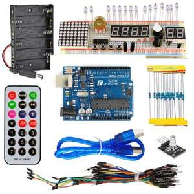 Arduino UNO Starter Kit mit viel Zubehör, Idealo vergleichspreis 30€