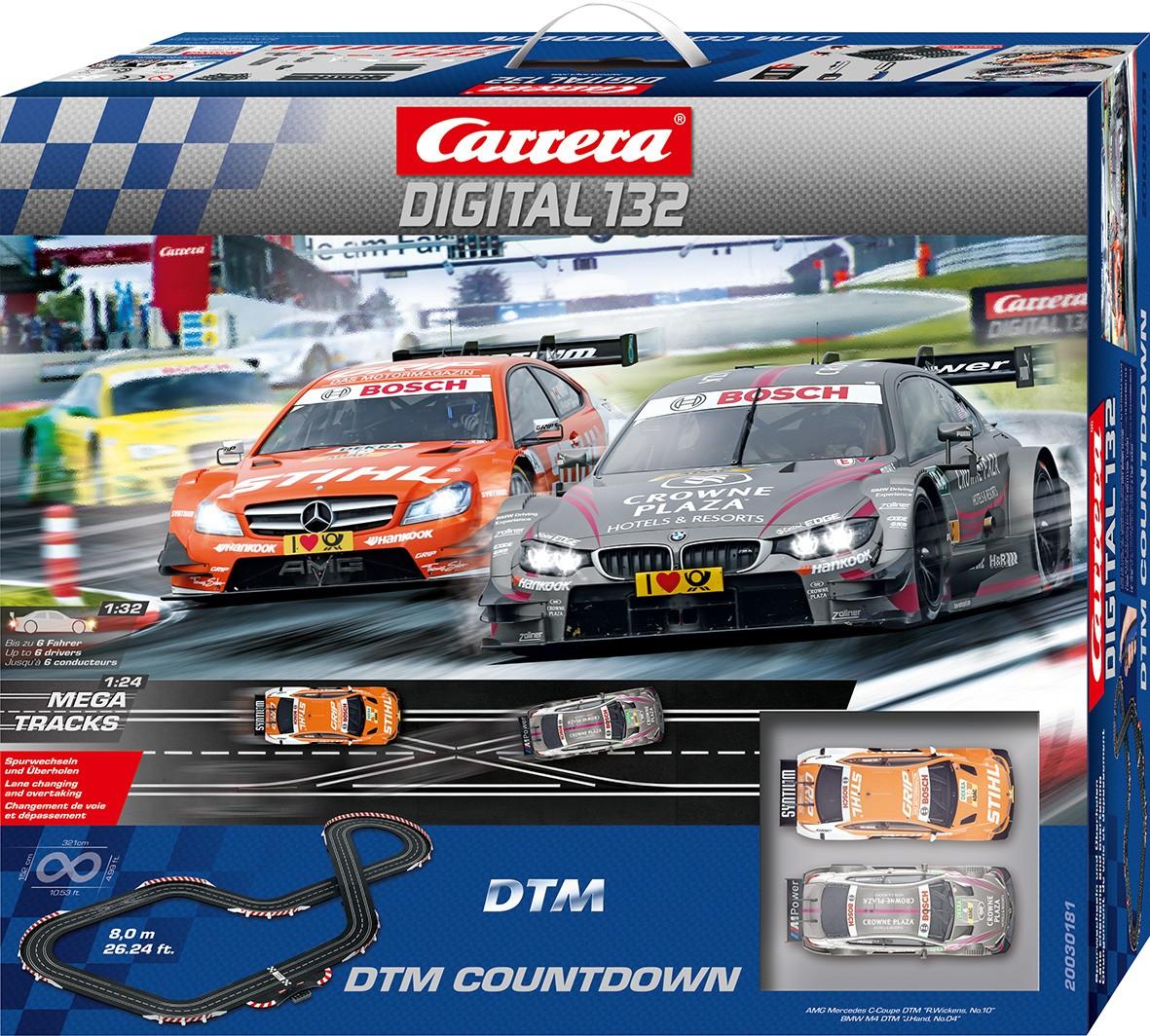MÜLLER On- & Offline: Carrera Digital 132 - DTM Countdown für 199 € statt 249 €