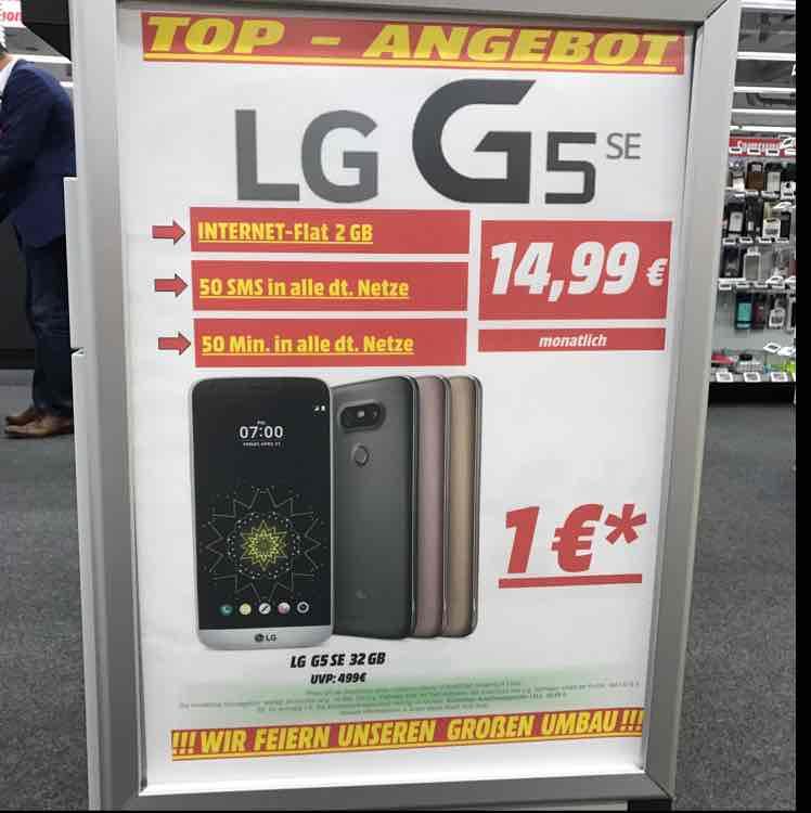 [Lokal MM Köln Kalk] LG G5 SE