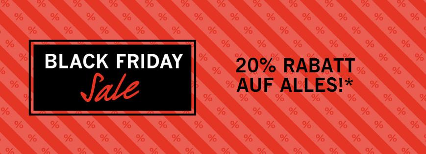 Black Friday bei Appelrath & Cüpper - 20% off