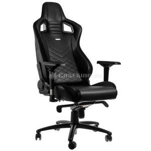 Noblechairs EPIC Series in schwarz bei Caseking