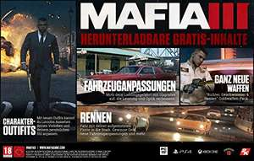 Mafia III - Collector's Edition - (PlayStation 4) für 69,97 EUR + 5 EUR Versand / nächster Preis 89,99 EUR