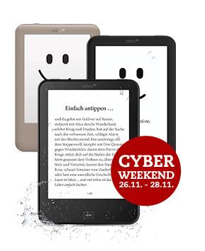 tolino eReader 20% Rabatt - Cyber Weekend @Thalia.de