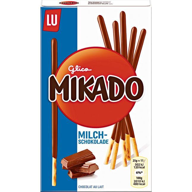 Mikado Milchschokolade für 0,99 € bei Rossmann