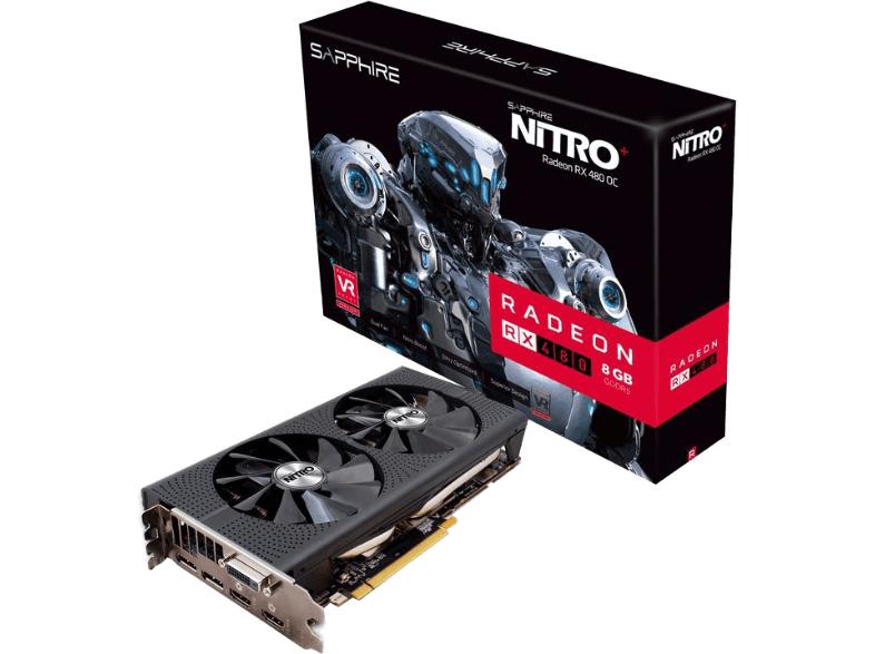 Sapphire Nitro+ Radeon RX 480 8G D5 (8GB) für 227€ & Intel Core i5-6500 (boxed) für 177€ [jeweils inkl. Versand nach DE] [Mediamarkt.at]