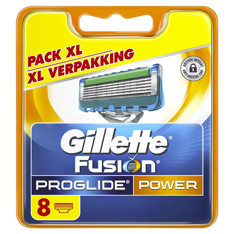 AMAZON.de TAGESDEAL! Gillette Fusion ProGlide Power Rasierklingen, 8 Stück!
