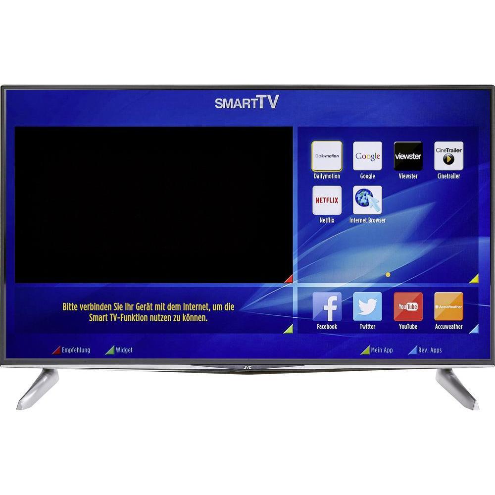 [Conrad] JVC LED-TV 122 cm 48 Zoll JVC LT-48VU83A EEK A+ DVB-T2, DVB-C, DVB-S, UHD, Smart TV, WLAN, CI+ Schwarz + 5% shoop