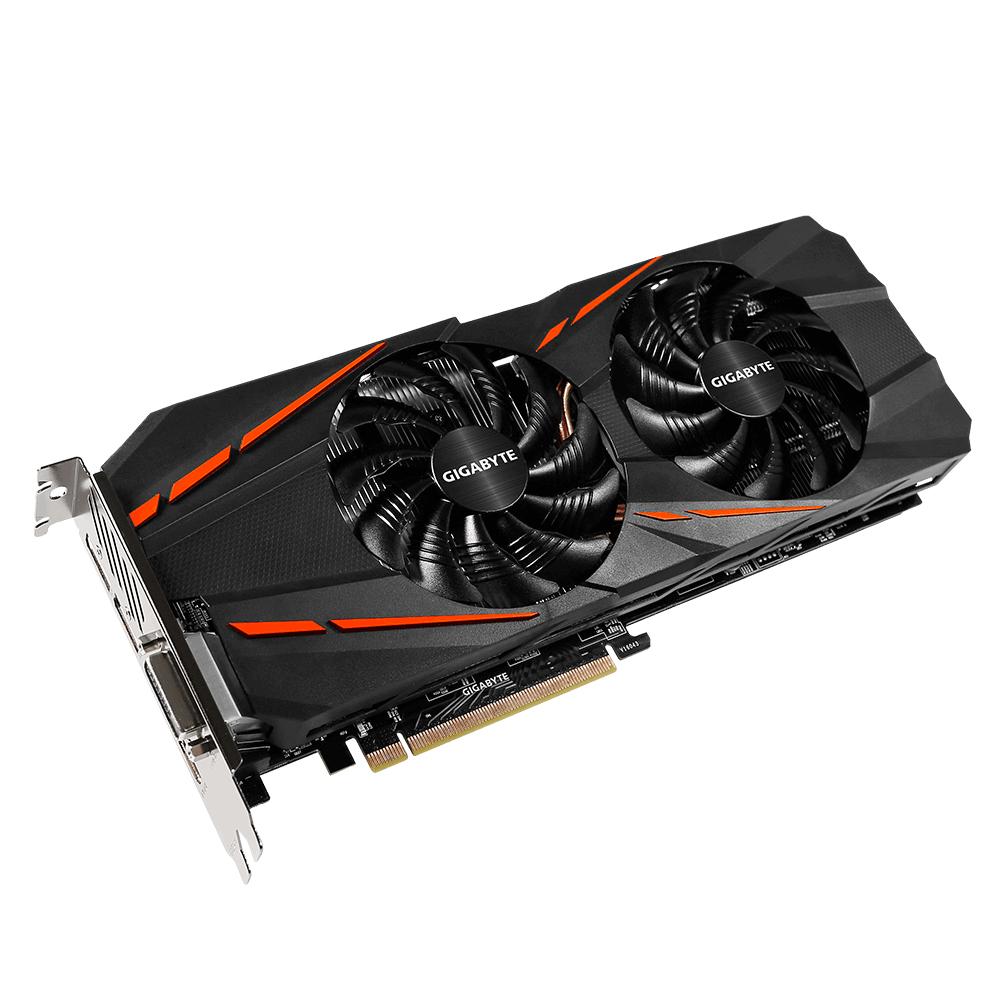 Gigabyte GeForce GTX 1060 G1 Gaming 6G - NVIDIA Grafikkarte - 261,63 €